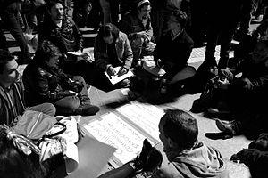 Atelier lors de la Nuit Debout à Montpellier ( 40 mars ).jpg